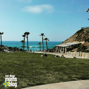 Nestled in the Bird Rock area of La Jolla: Calumet Park picnic