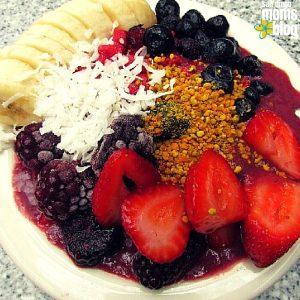 Swami's Cafe acai bowl