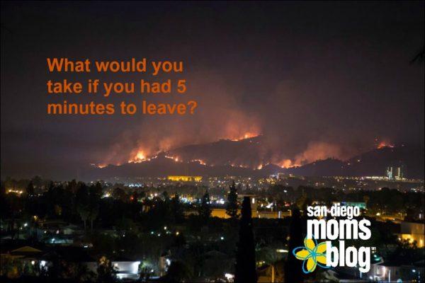 firestorm wildfire evacuation