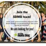San Diego Moms Blog is Looking for Writers!
