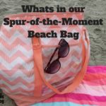 What's in our Spur-of-the-Moment Beach Bag {Guest Post}