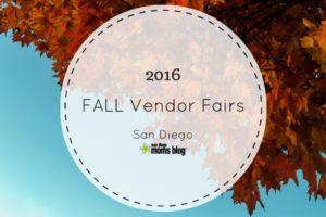 2016 fall vendor fairs