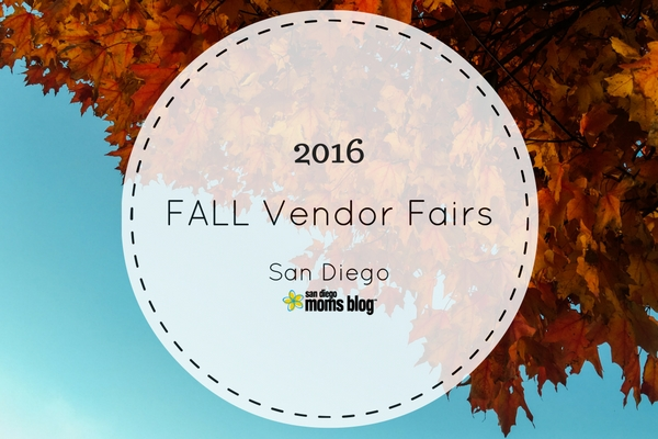 2016 fall vendor fairs