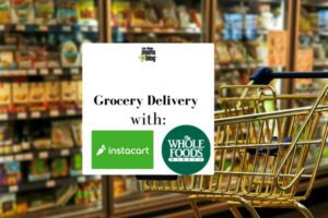 Delivery service from Whole Foods with Instacart