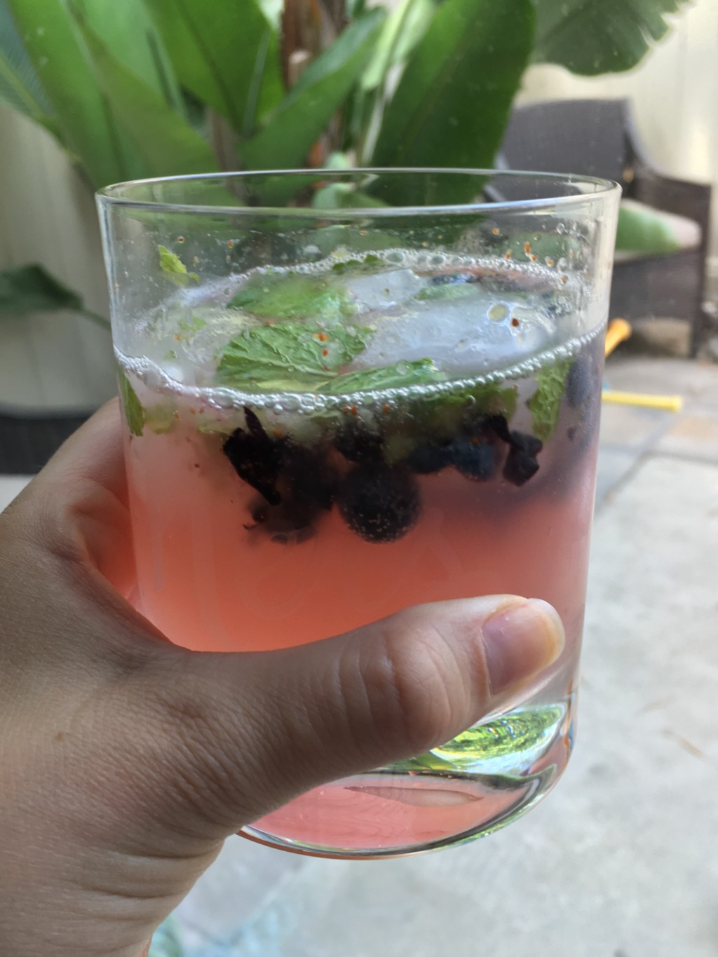 blueberry faux-jitos
