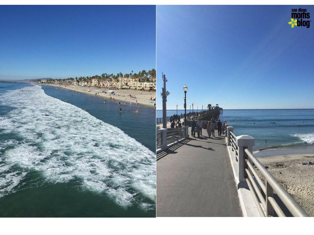 Views from Oceanside Pier. Image credit: Lori Clark
