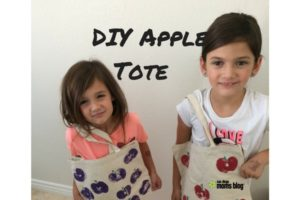 diy apple tote