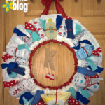 DIY Nautical Diaper Wreath: A Creative Way to Gift a Diaper, or two!