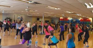 Jazzercise Class workout