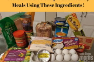 You can make 5 simple and healthy meals using these ingredients!