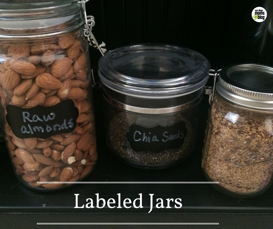labeled-jars organized