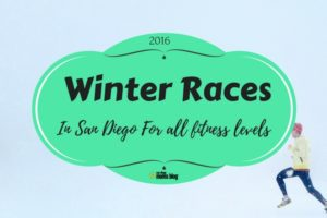 winter race and run