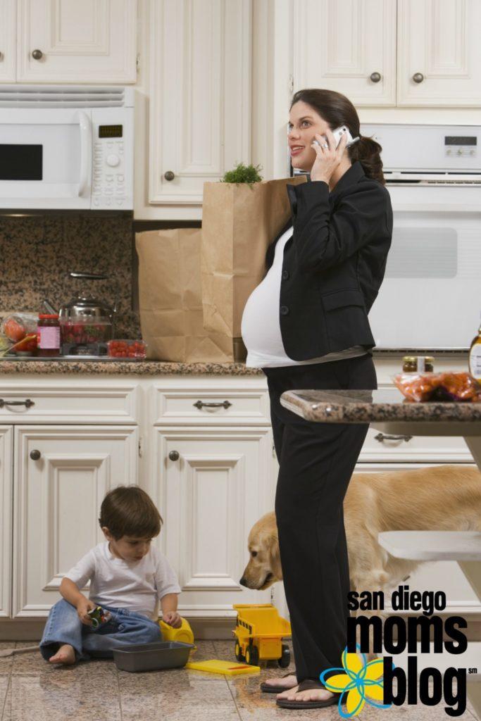 solo-parenting-pregnant