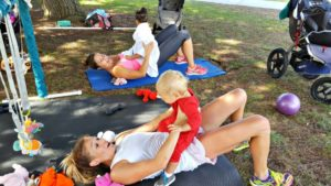 workout with kids fitness