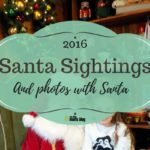 Santa Sightings and Photos with Santa in San Diego {2016}