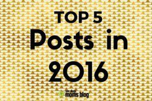 TOP 5 2016 posts