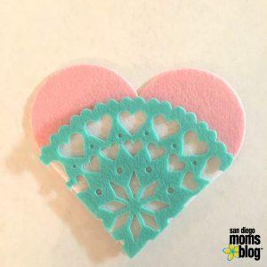 heart, felt, crafts, valentines
