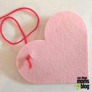 heart, felt, crafts, diy, valentines