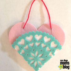 heart, felt, diy, valentines, crafts
