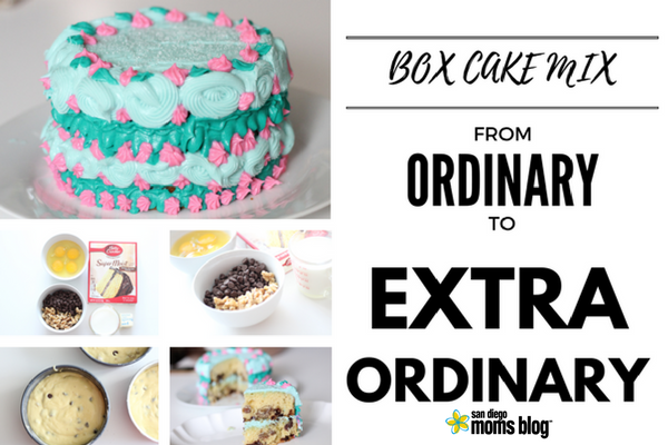 Cake Box Mix Tips to go from Ordinary to ExtraOrdinary