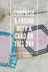 surprise a friend card day