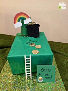 St. Patrick's Day leprechaun green