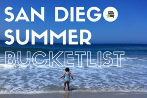 SAN DIEGO summer bucket list