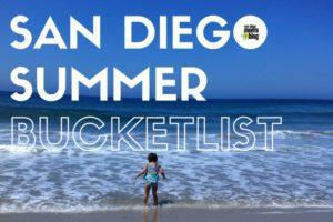 SAN DIEGO summer bucket list