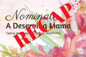 Nominate deserving mom