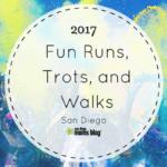 Fall Fun Runs, Trots and Walks 2017