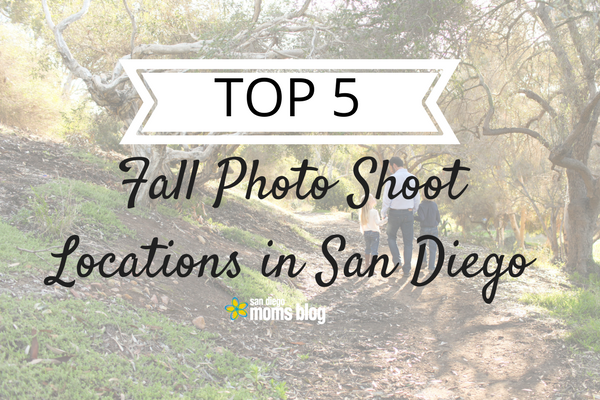 Top 5 Fall Locations In San Diego For Family Photos Plus