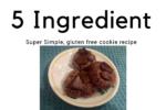 5 Ingredient cookie
