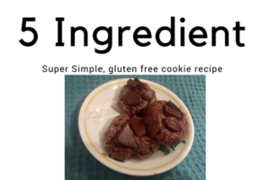 5 Ingredient cookie