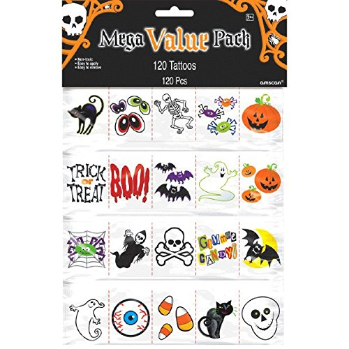 10 Treats Sans Sweet To Give Out This Halloween: #5 Themed Temporary Tattoos
