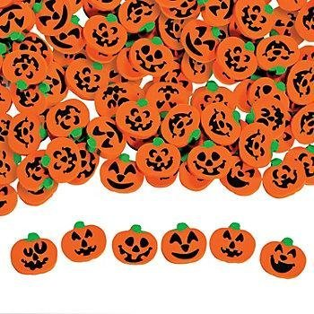 10 Treats Sans Sweet To Give Out This Halloween: #6 Jack'O'Lantern Mini Erasers