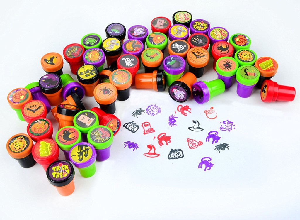 10 Treats Sans Sweet To Give Out This Halloween: #3 Themed Stamps