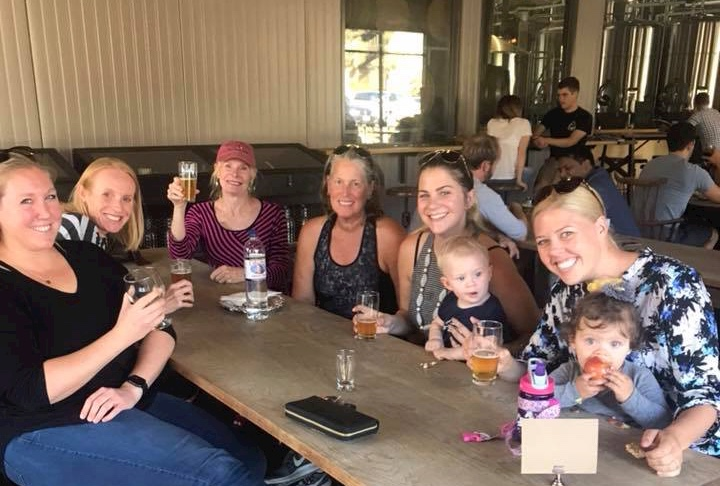 family-friendly brewery San Diego Beer Moms