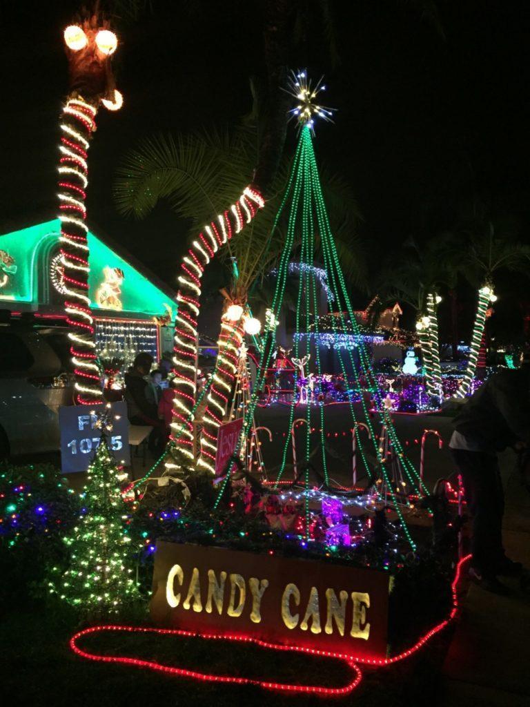 Candy Cane Lane Christmas Lights San Diego 2020 Take a Trip Down Candy Cane Lane