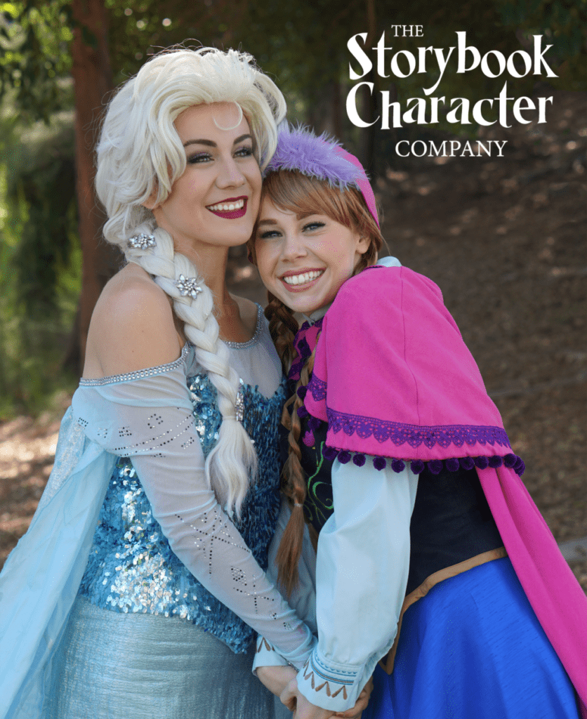 The Storybook Character Company San Diegos Highest Quality Princess And Entertainment Is Available For Bookings Birthdays