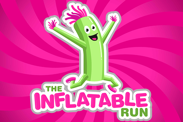 inflatable run