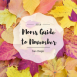 2018 Moms Guide to November Events