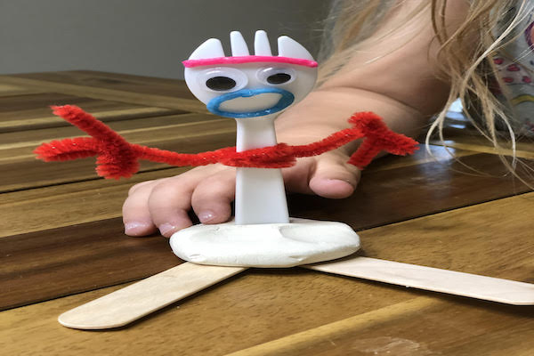 DIY Toy Story Forky Craft