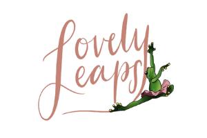lovely leaps dance logo