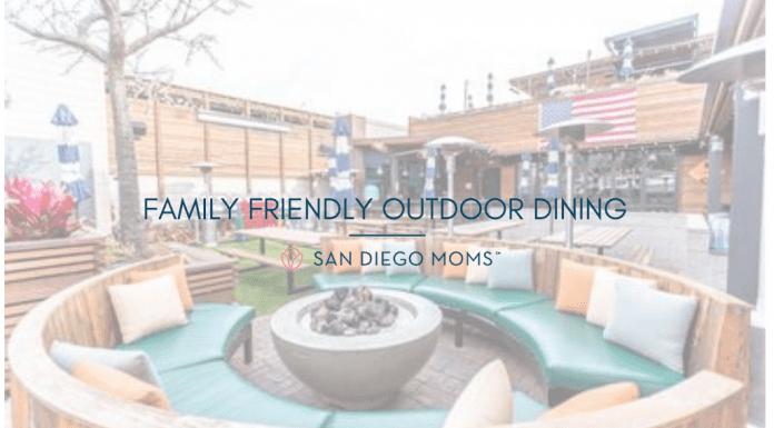 family friendly outdoor dining