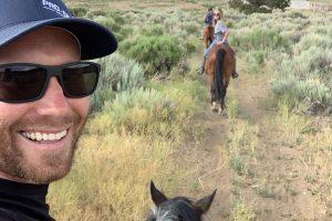 Horseback Riding Selfie