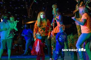sand Diego zoo halloween