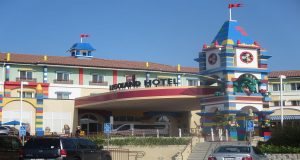 Main entrance to the Legoland Hotel