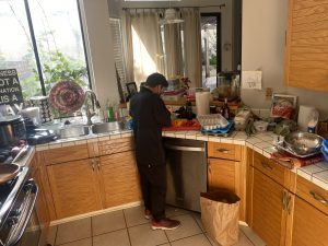 chef victor cooking