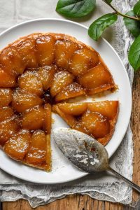 photo of classic apple tarte tatin