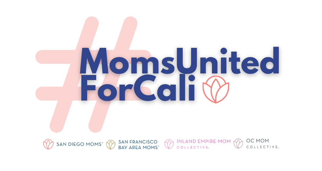 moms united for cali logo, supporting small businesses in california